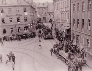 THEN: Bad Lobenstein, Germany - April 1945